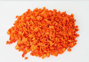 Dehydrated Carrot Cubes Or Dried Carrot Flakes