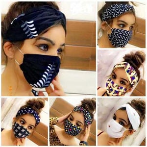 Ladies face mask 3 in 1