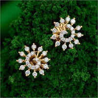 Ladies Diamond Earrings