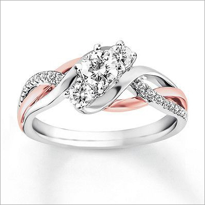 Ladies Designer Diamond Ring