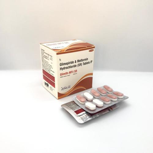 Glimepiride Ip 4 Mg + Metformin Hcl Ip 500 Mg