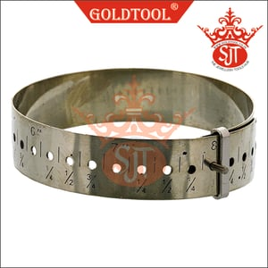 Gold Tool Ideal For Accurately Measuring Bracelets And Bangles