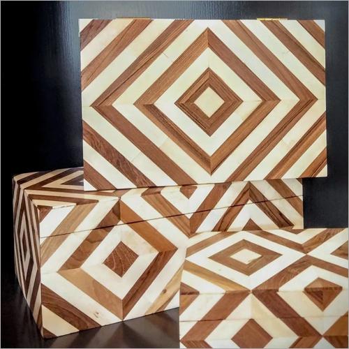 Horn Wooden Jewellery Box