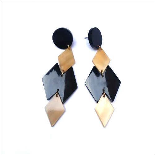 Horn Earrings Set