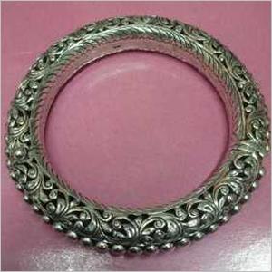 Silver Traditional Bracelet Bangle