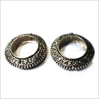 925 Silver Article Goli Katain Bangles