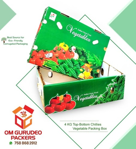 Vegetables Packaging Corrugated Box