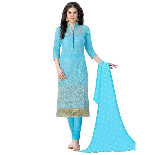 Cotton Embroidery Salwar Suit