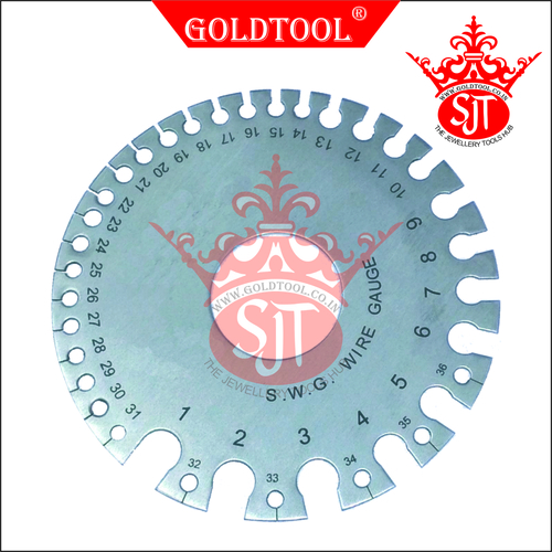 Gold Tool Round Wire Gauge
