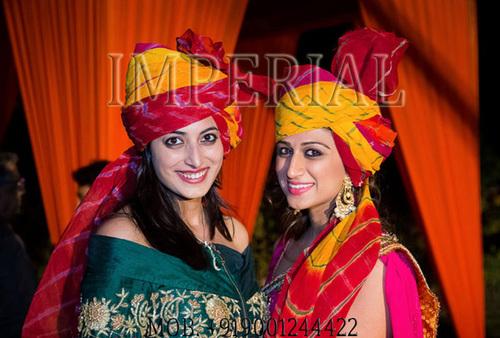Girls Wedding Turban