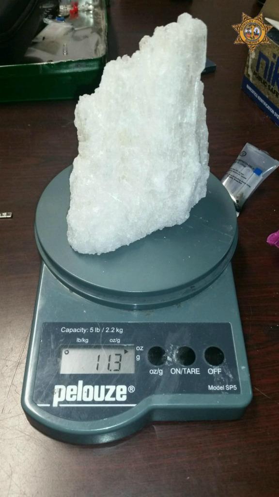 Blue and white Crystal Methe 10kg in Australia