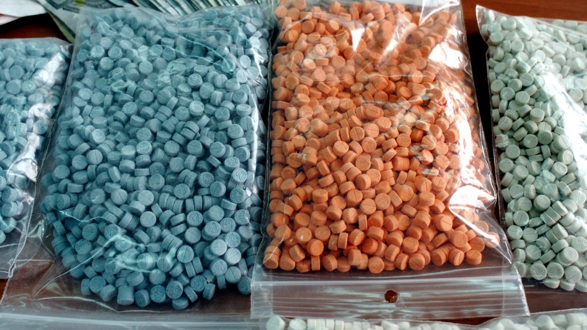 Ecstacy in stock