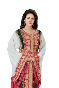 Gorgeous Takchita Moroccan Fancy Arabic Embroidered Kaftan for Women