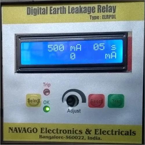 Digital Earth Leakage Relay