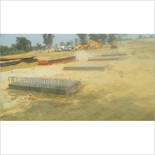 Modular Weighbridge Foundation