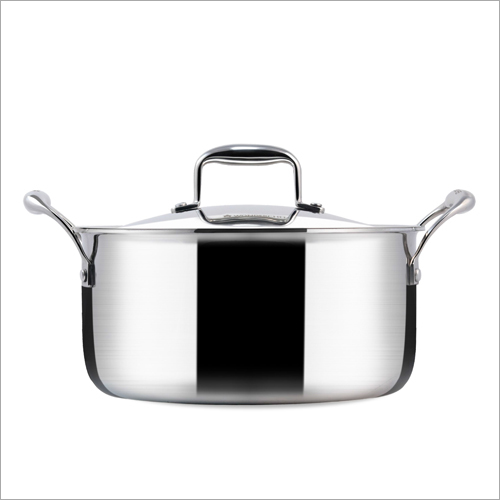 24 cm - 4.8 Ltr 3 Ply Stainless Steel Casserole