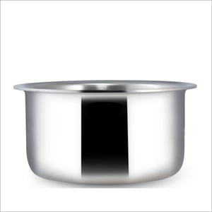 18 cm - 2.1 Ltr 3 Ply Stainless Steel Cooking Pot