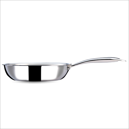 24 cm - 2 Ltr 3 Ply Stainless Steel Fry Pan