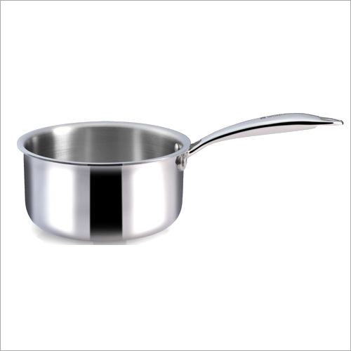 16 cm - 1.5 Ltr 3 Ply Stainless Steel Sauce Pan