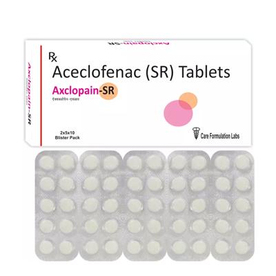 Aceclofenac IP 200mg./AXCLOPAIN-SR