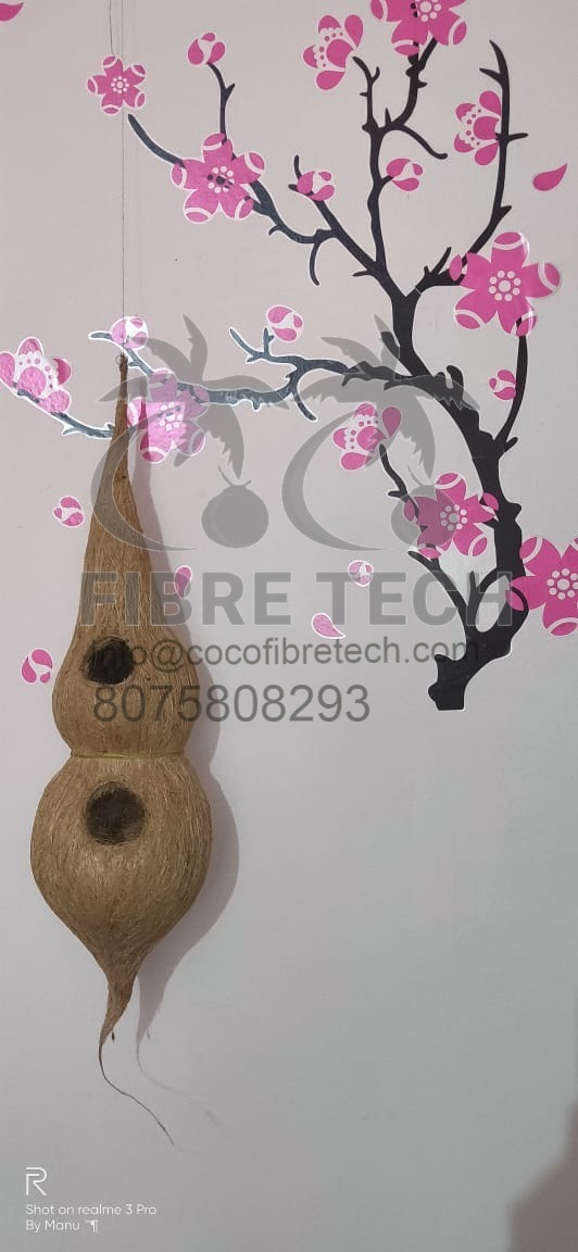 coir bird nest
