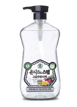 Silver Nano Step kitchen-purpose cleaner 1,100ml (with pump)