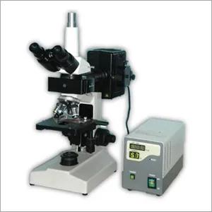Trinocular Research Fluorescence Microscope
