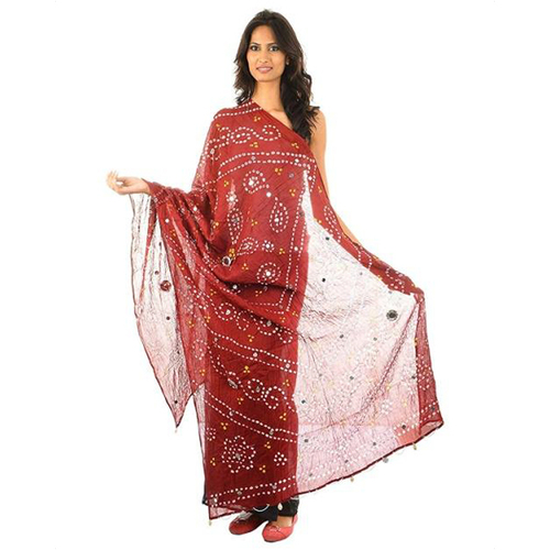 Mirror Work Dupatta