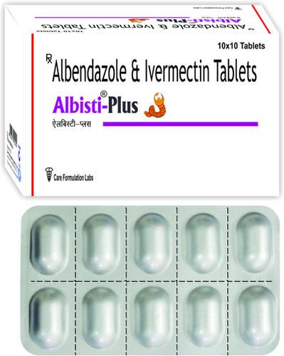 Albendazole IP 400mg + Ivermectin IP 6 mg/ALBISTI-PLUS