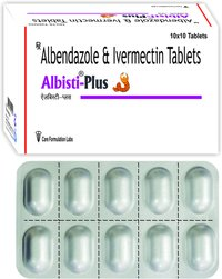 Albendazole IP 400mg + Ivermectin IP 6 mg/ALBISTI-PLUS
