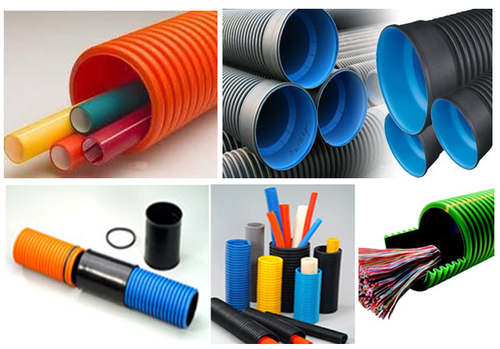 39 MM ID HDPE DOUBLE WALL CORRUGATED PIPE