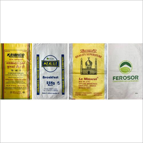 PP Woven Printed BOPP Bags