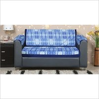 Kirti Finishing Abstract Print 2 Seater Sofa Slip Cover