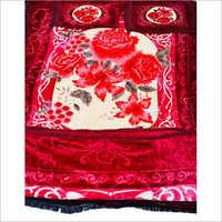 Chenille Printed Bedding Set