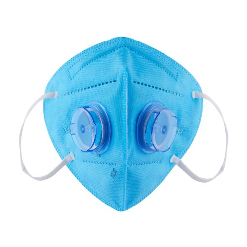 Medi-Max N95 Respirator Face Mask With 2 Valve