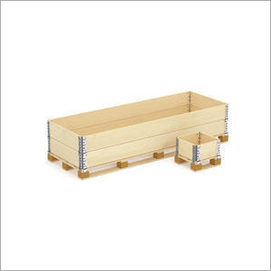 Wooden Collapsible Pallet Box