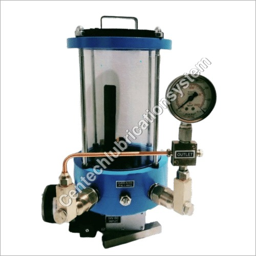 Grease pump 24 volt DC