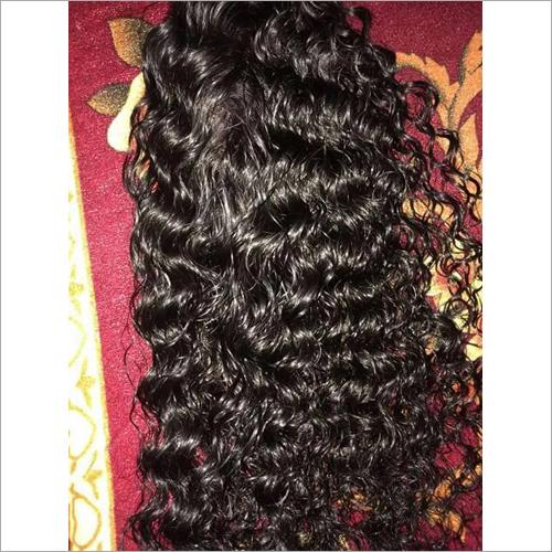 Ladies Curly Hair