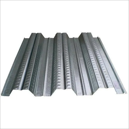 Galvanised deck sheet
