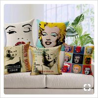 New and Heavy jute cushion covers
