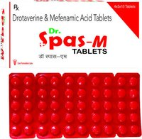 Drotaverin Hydrochloride 80mg +  Mefenamic Acid IP 250 mg./DR.SPAS-M