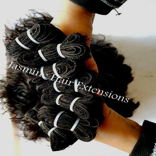 Curly Double Weft Human Hair