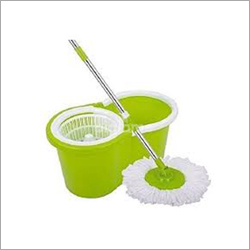 Spin Mop with Wheels Bucket