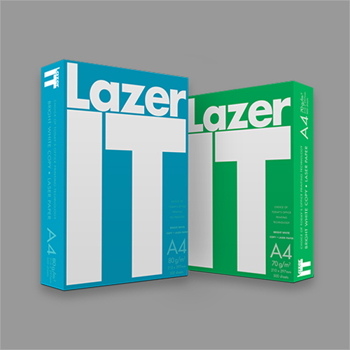 Lazer IT Bright White Copy Paper