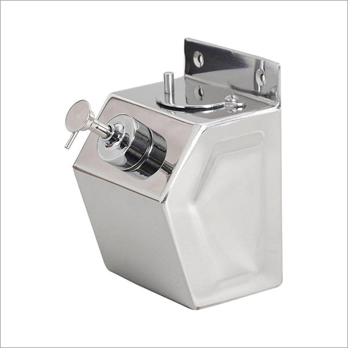 Manual Stainless Steel Liquid Soap Sanitizer and Shampoo Dispenser