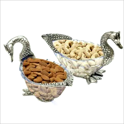 Swan Shape Dry Fruit Bowl