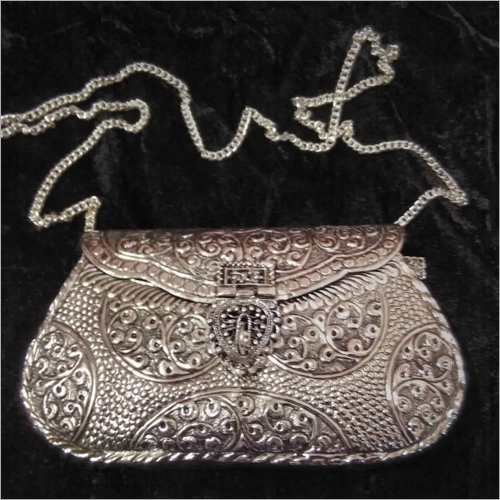 Ladies Metal Clutch
