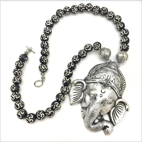 Metal Ganesh Necklace