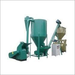 Semi Automatic Cattle Feed Making Plant