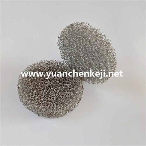 Electroplating sponge filter